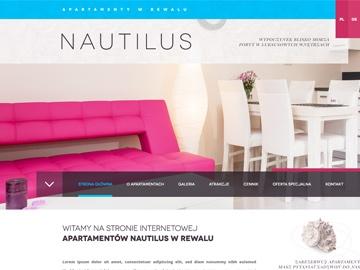 Apartamenty Nautilus w Rewalu
